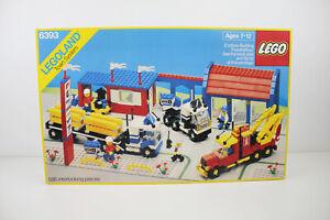 LEGO #6393 Big Rig Truckstop LEGOLAND Town System w/ Box Instructions VGC vtg