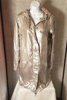 Calypso St. Barth Silver Tasila Parka Jacket XS S M L MSRP $495 NWT Christmas