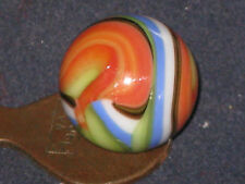 BLENDED HURRICANE HAND PICKED VACOR MULTI COLOR SWIRL GLASS MARBLE MARBLES MINT