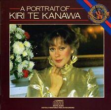 NEW - Portrait of Kiri Te Kanawaa by Te Kanawa, Kiri