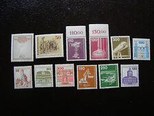 ALLEMAGNE BERLIN - timbre - yvert et tellier n° 627 a 638 n* (A1) stamp germany