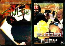 Sinstre, Ravage & Sudden Fury - 3 Movies on 2 NEW DVDs