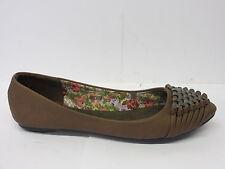 Mujer Update Zapato plano l4923 gris, Negro&Marrón