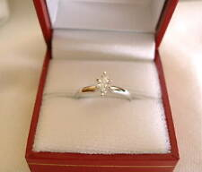 .32 Ct. Diamond Marquise Solitaire  14K White Gold Ring