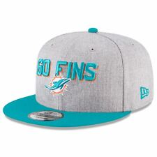 Miami Dolphins Hat 2018 NFL Draft On Stage 9FIFTY Men's New Era Snapback