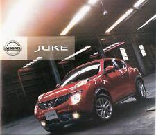 Prospekt / Brochure Nissan Juke 08/2011 +++JAPAN+++