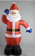 Outdoor 6ft Inflatable Santa with Lights Christmas Decoration Multicoloured Box
