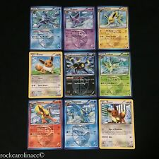 Plasma Freeze EEVEE EVOLUTION COMPLETE CARD SET x9 Pokemon Lot Leafeon Umbreon