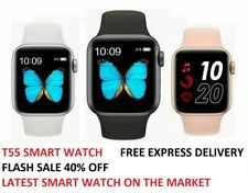 T55 Smart Watch Series 5 IOS Android Iphone Apple Samsung Smartwatch Men & Kids