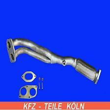 FIAT BARCHETTA 1.8 16V 96KW  Hosenrohr Krümmerrohr Auspuffanlage + Montagesatz
