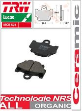 2 Plaquettes frein Avant TRW Lucas Organic MCB524 Yamaha XT 600 Z Tenere 34L/55W