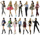 5 Sets Doll Clothes Random Delivered Fashion Lovely Dress/outfit For 11 in. Doll