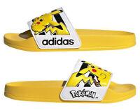 Adidas Kids Boys Sliders Shower Slides Shoes Flip Flops Sandals Yellow