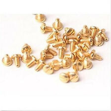 2pcs Gold Plated Love Bracelet Screw Compatible With Kartier #A51S LW