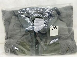 NIP USAF USN Nomex Flight Suit Flyers Summer Coveralls GREEN 38 REG NWT Equa Ind