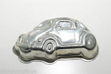VW VOLKSWAGEN BEETLE KAFER DISH BAKING TRAY METAL EXCELLENT RARE SELTEN.
