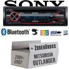 Sony Autoradio für Mitsubishi Outlander Bluetooth CD MP3 USB Auto Einbauset