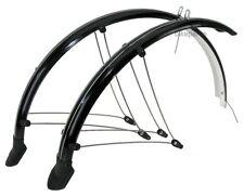 """Guardabarros de Bicicleta Set 26"""" 60mm CHAPAS DE PROTECCIÓN NEGRO contacto"""