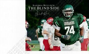 ORIGINAL 8x10 SIGNED AUTOGRAPHED PHOTO QUINTON AARON THE BLIND SIDE FOOTBALL COA