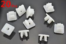 20 Pcs Nylon Nut #10 Screw Grommet Clip For Toyota 90189-06010