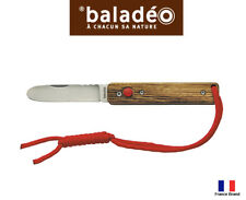 Baladeo 103mm PAPAGAYO KID Push-Button Lock Rounded Tip Pocket Knife ECO340