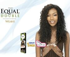 Freetress Equal Double - Weave - Beach Curl 4 Piece + Free Closure and Bang