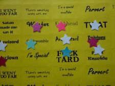 Unbranded Letters & Words Stamps & Stickers