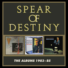 Spear of Destiny : The Albums 1983-85 CD Box Set 3 discs (2019) ***NEW***
