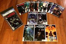 THE STRAIN #1 CGC 9.8 + LOT (2-11) THE FALL 1+2 ETERNAL 1, 2, 11 Del Toro FX TV
