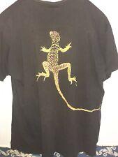 Vintage 90's Marlboro Miles Cigarette Unlimited Lizard Gecko Xl T-Shirt Merch