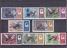 Qatar 1966 - Space Rendezvous  SG-092-099 - 8v MNH