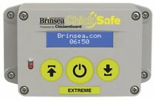 Brinsea Products Chick Safe Extreme Automatic Chicken Coop Door Opener Grey Yell