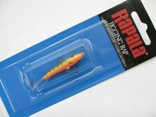 "Rapala W5-GHP 2"" W5 Glow Hot Perch Jigging Rap Size 05 Fishing Lure"
