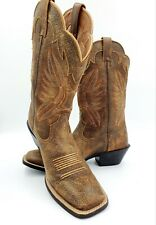 Ariat Women's Round Up Square Toe Vintage Bomber US 10B