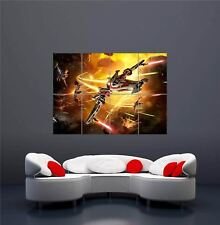 STAR WARS REPUBLIC GALACTIC STARFIGHTER XBOX PS4 PS3 GAME PC GIANT POSTER OZ1123