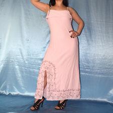 Blüten besticktes COCKTAILKLEID rosa Tüll* S 38 Abendkleid* Etuikleid Partykleid