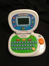 LEAPFROG MY OWN LEAPTOP LEARNING INTERACTIVE LAPTOP COMPUTER GREEN TESTED-WORKS!