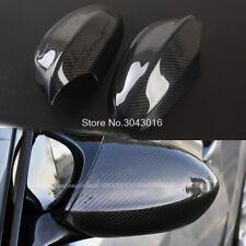 CARBON FIBER SIDE MIRROR COVER CAPS FOR BMW E90 E92 E93 M3 2007 - 2013