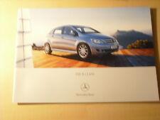 49631) Mercedes B-Klasse Japan Prospekt 08/2007