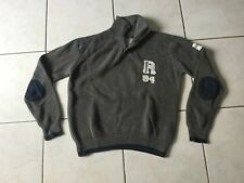 Pull REDSKINS taille 14 Ans coton gris