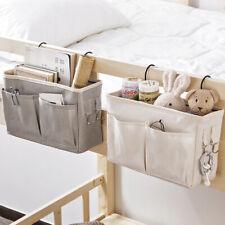 Couch Hanging Bag Organizer Bedside Pockets Gadget Storage Holder Room Decor