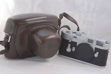 Leica M3 Camera Body #1070017 w/ MR Meter and Leather Case