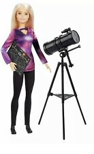Barbie with Telescope, National Geographic Astrophysicist Doll NEW IN BOX