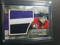 2010-11 ITG Heroes and Prospects Top Jumbo Jersey Silver Ryan Spooner Patch
