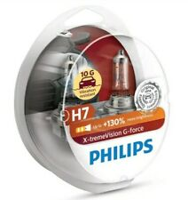 PHILIPS H7 XTREME VISION G FORCE UPGRADE BULBS TWIN H7 X-TREME+130% MORE LIGHT