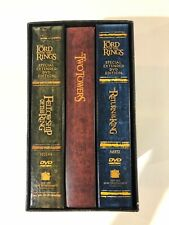 Lord of the Rings DVD Special Extended Edition Boxed Set Trilogy LOTR Movie Nice