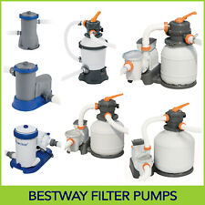 Bestway Above Ground Swimming Pool - Cartridge Filter Pump / Sand Filter Pump