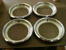 NOS OEM Ford 1980 1986 Truck F150 Bronco Wheel Trim Rings 81 1982 1983 1984 1985
