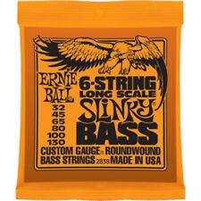 Ernie Ball 2838 Slinky guitare basse 6 cordes 32-130