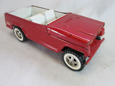 Vintage 1970's Tonka red Jeep Jeepster convertible truck no. 2245